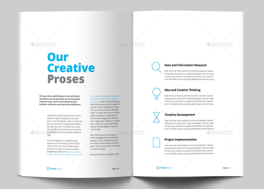 Creative Agency Proposal Template Costumepartyrun
