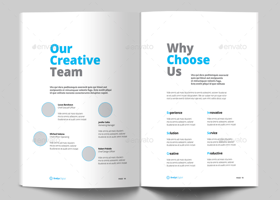Taku Clean Agency Business Proposal Brochure by evolysdigital - proposal for business