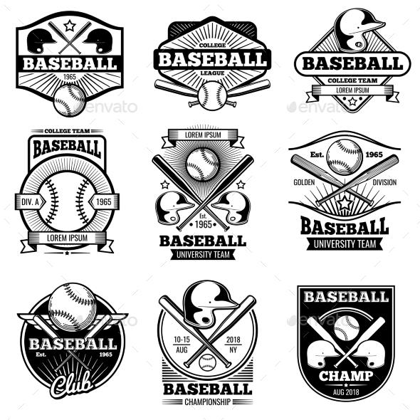 Vintage Sports Logo Design by MicrovOne GraphicRiver