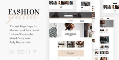 Fashion Guide   Online Magazine & Lifestyle Blog WordPress ...