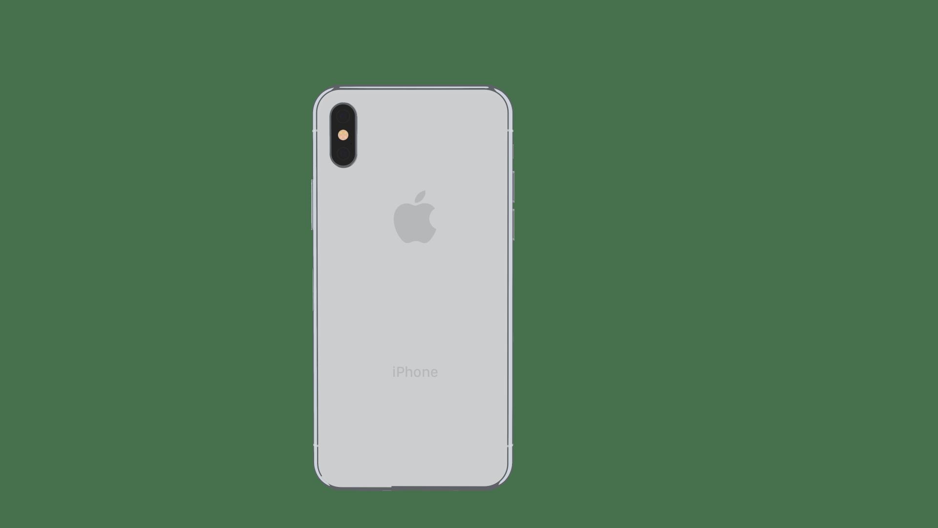 Iphone X Off White Wallpaper Element 3d Apple Iphone X By Mr Matt 3docean