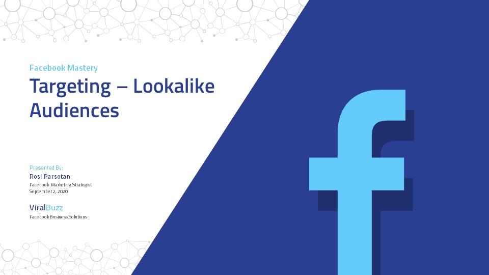 Facebook Marketing Presentation by afahmy GraphicRiver