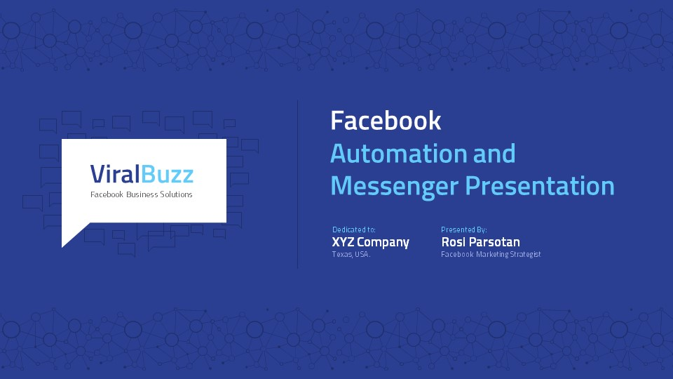 Facebook Marketing Presentation by afahmy GraphicRiver