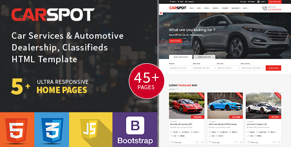 Modern Classified - Ad Listing - Car Services - Inventory - car ad template