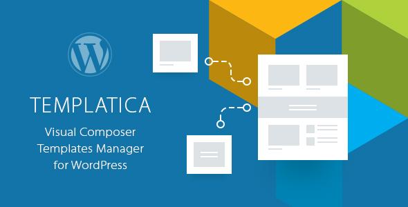 Templatica - Visual Composer Templates Manager by QuanticaLabs - visual composer templates