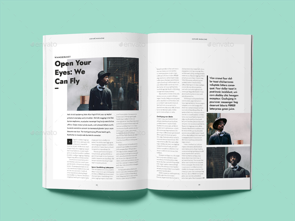 Cofune Magazine - 40 Pages Indesign Template by Danibernd GraphicRiver