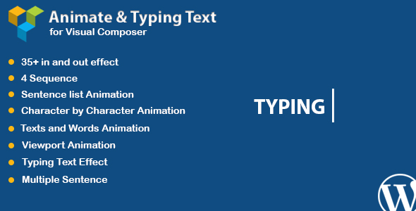 WPBakery Page Builder - Animated Text and Typing Effect (formerly