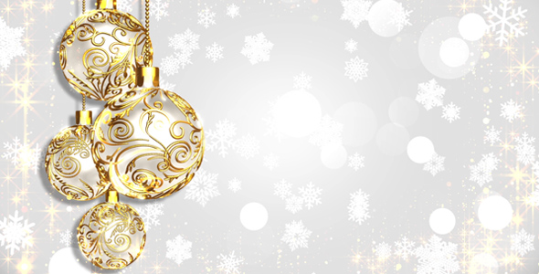 White Christmas Background by AS_100 VideoHive