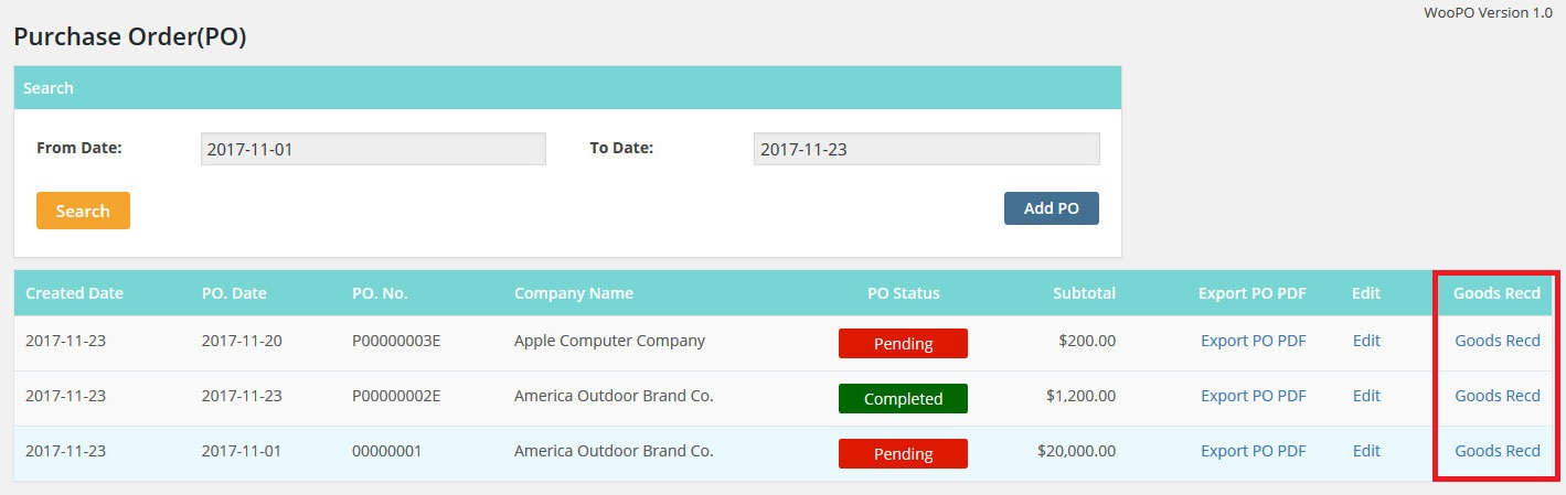 WooCommerce Purchase Order (PO System) by WooPro CodeCanyon