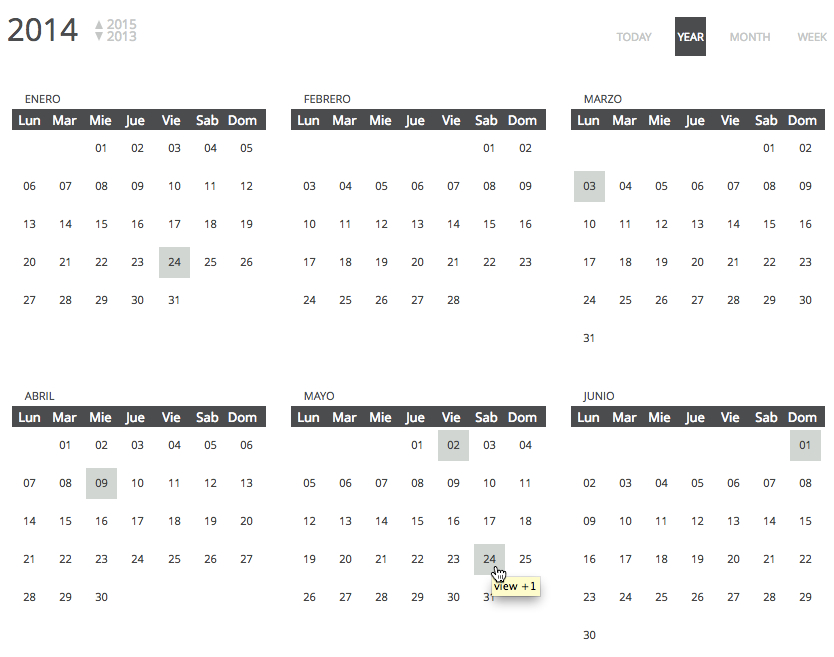 Chronosly Event Calendar WordPress Plugin by chronosly CodeCanyon