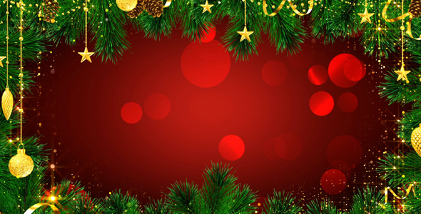 Christmas Background by AS_100 VideoHive - christmas background image