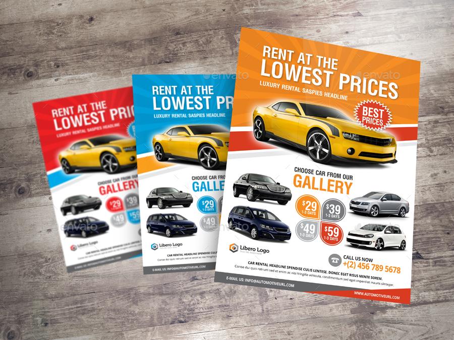 Luxury Car Sale Rental Flyer Ad v2 by Jbn-Comilla GraphicRiver - car sale flyer