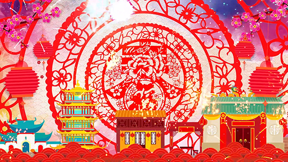 Chinese New Year Background by XYYM199012 VideoHive