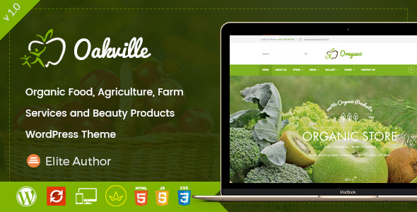Oakville - Organic Food, Agriculture, Farm Services and Beauty