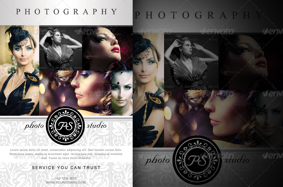 Modern Photography Studio Flyer/Poster by armithmedia GraphicRiver