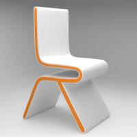 Futuristic Chair by TheGreenlz | 3DOcean