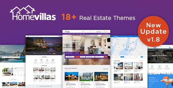 Home Villas Real Estate WordPress Theme by Chimpstudio ThemeForest - property management websites templates