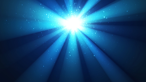 Night Shining Sky, Divine Radiance, Sparkles, Blue Background with