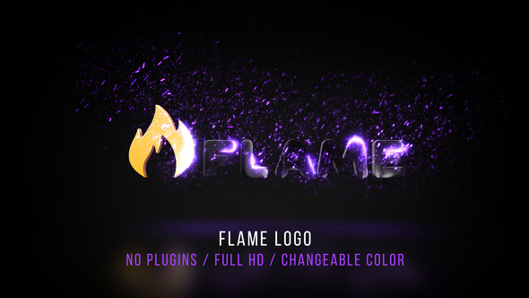 Flame Logo by BlueBeardStudio VideoHive - flame logo