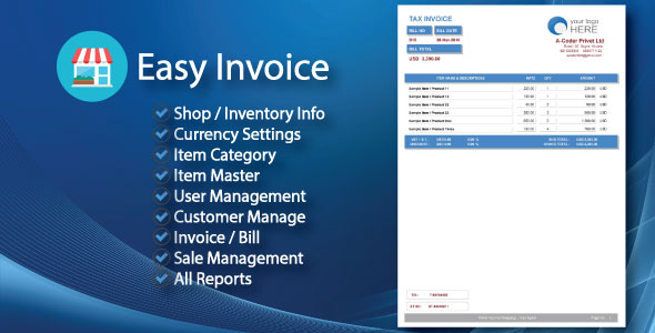Easy Invoice Invoice Management System  All Reports by a-coder - invoice for sale