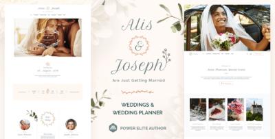 Honeymoon - Wedding & Wedding planner WordPress by vamtam ...
