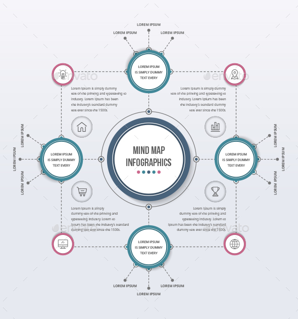 Mind Map Template by Design_Sky GraphicRiver