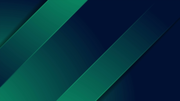 Dark Green and Blue Stripes Abstract Motion Background by saicle