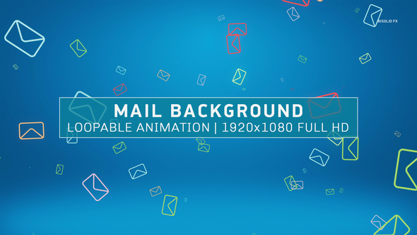 Mail Background by bisolid_fx VideoHive - mail background