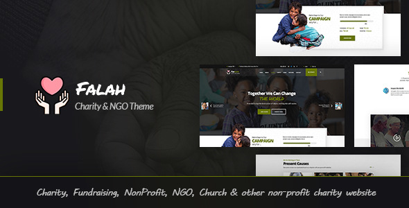 Charity Bootstrap 4 Templates Bootstrap4