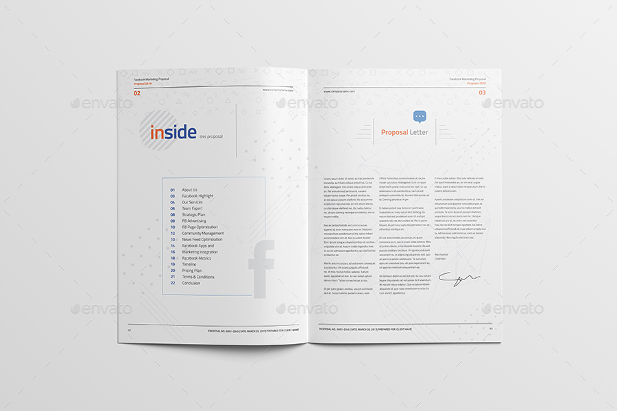 Facebook Marketing and Advertising Proposal by Unicogfx GraphicRiver