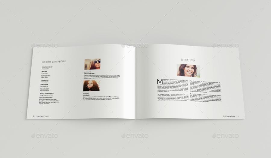 Landscape Magazine Template III by uloel GraphicRiver