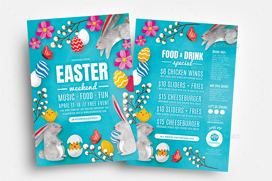 Easter Flyer by BrandPacks GraphicRiver