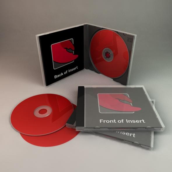 CD Case by ChristineWilde 3DOcean
