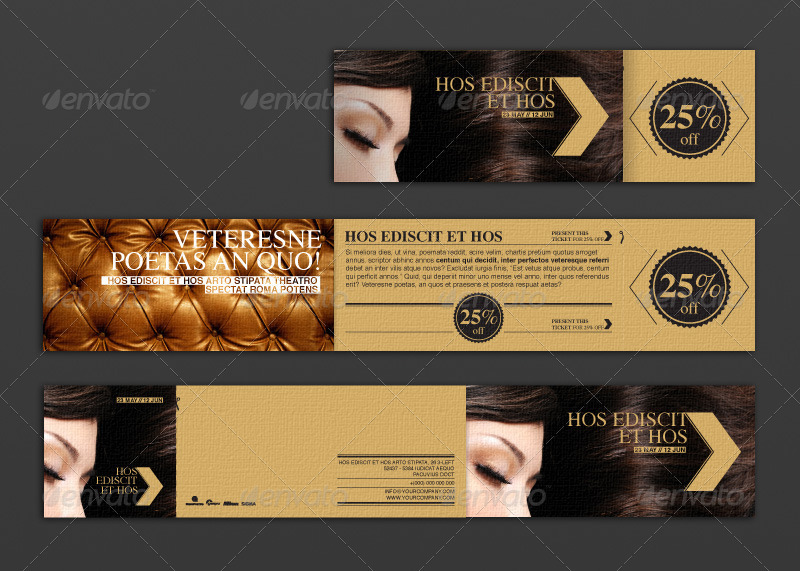Promotional Flyer With Detachable Discount Coupon by lbd-designstudio
