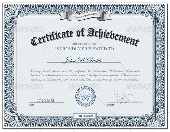 Diploma Template Psd certificate template vector for free download
