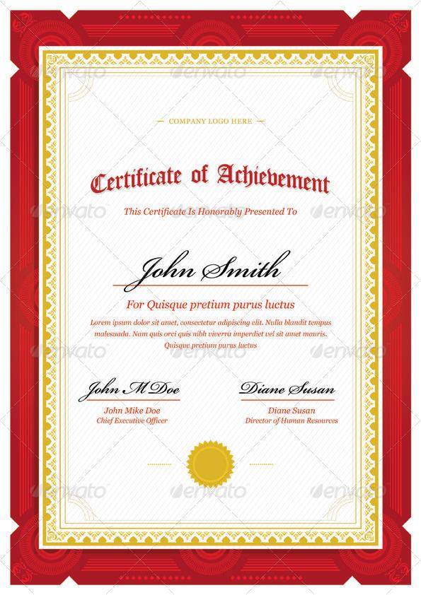 google certificate templates