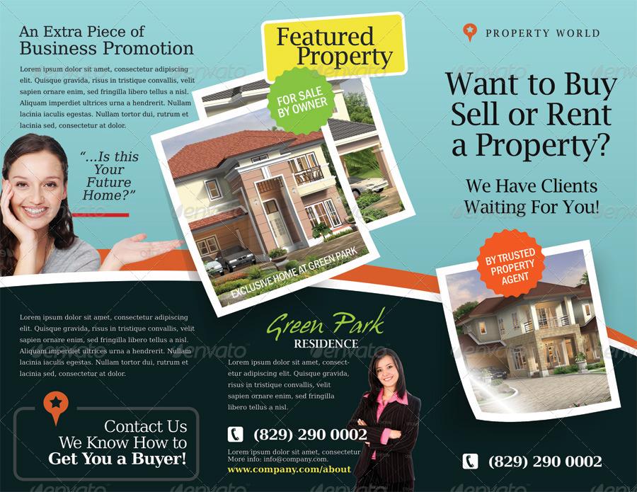 Real Estate Agent Brochure Templates Realtor Real Estate Agency - sample real estate brochure