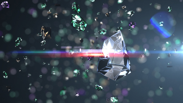 Falling Glitter Wallpaper Diamonds Explosion Logo Reveal By Iconoclast Videohive
