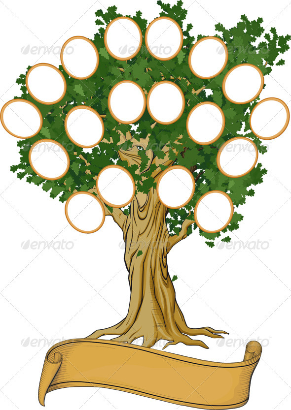 Family Tree by sharpner GraphicRiver