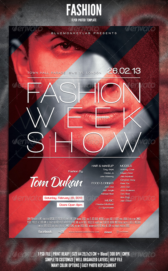 Fashion Poster Graphics, Designs  Templates from GraphicRiver