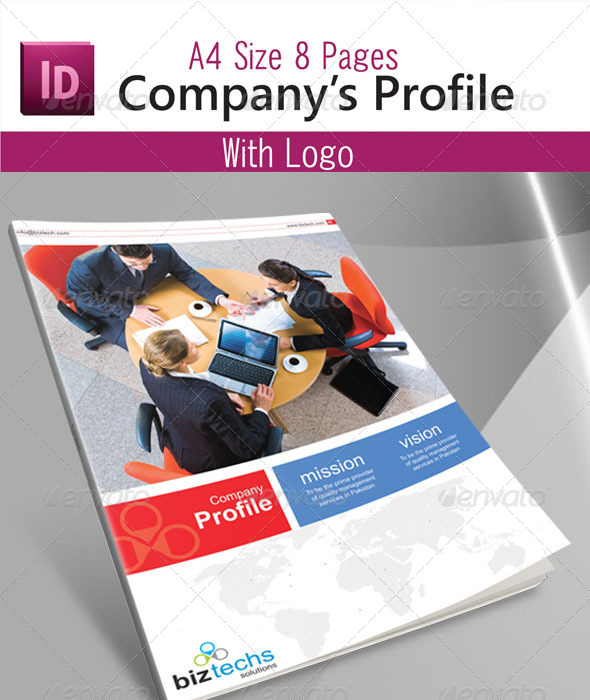 free company profile template word