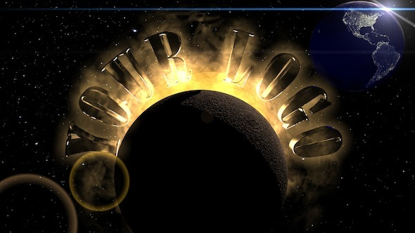 Earth And Moon 3d Wallpaper Solar System Logo By Da 3d 3docean