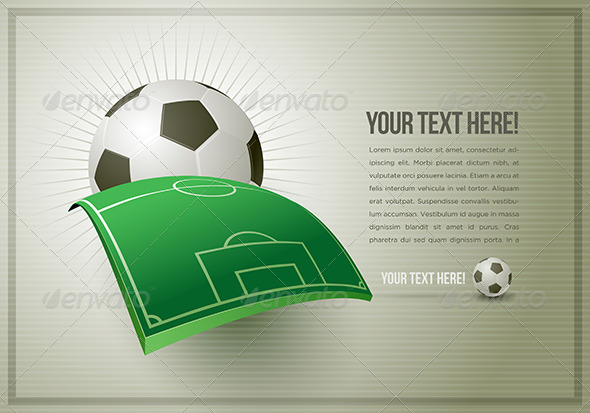 Abstract Soccer Design Template by sgursozlu GraphicRiver