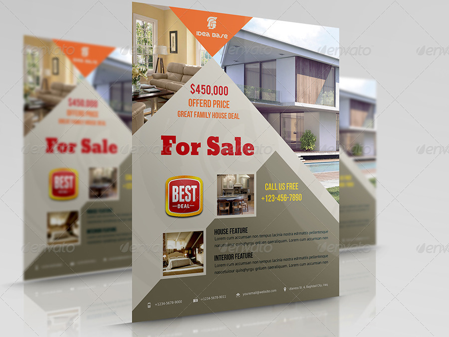 Real Estate Flyer Vol4 by OWPictures GraphicRiver