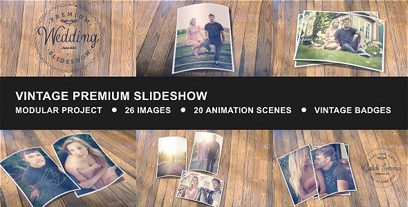 Vintage Premium Slideshow by placdarms VideoHive