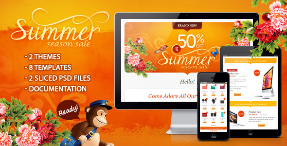 Summer Season Sale by ahmeng ThemeForest