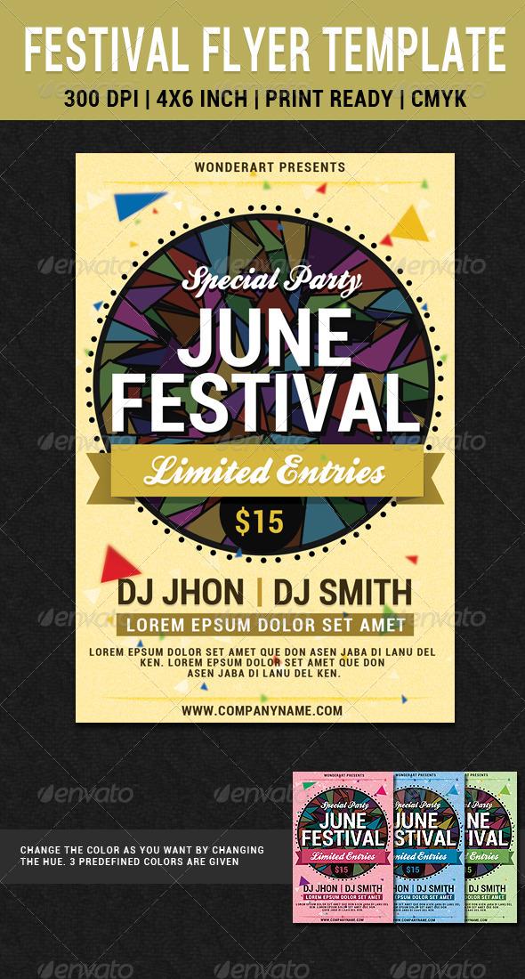 festival flyer templates - Goalgoodwinmetals - editable poster templates