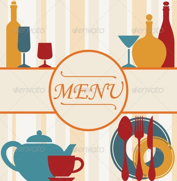 Design of Restaurant Menu Background by VectorTradition GraphicRiver