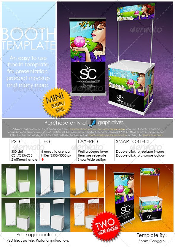 Booth Template Part 3 by shamcanggih GraphicRiver - po booth template
