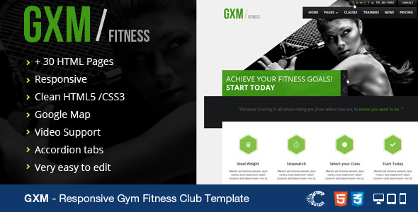 Fitness Templates Free - Fiveoutsiders - Fitness Templates Free